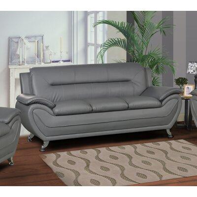 Polston Sofa Upholstery: Gray