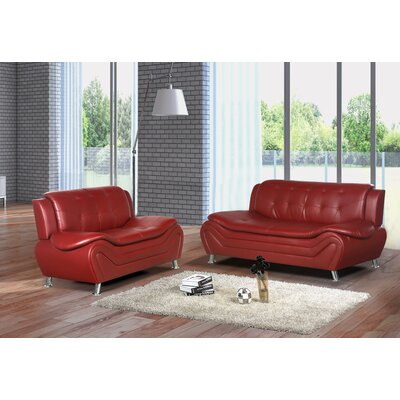 Tolar 2 Piece Living Room Set