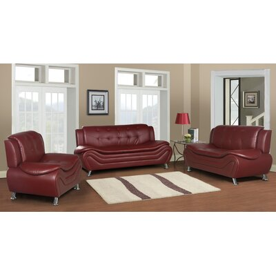 Tolar 3 Piece Living Room Set