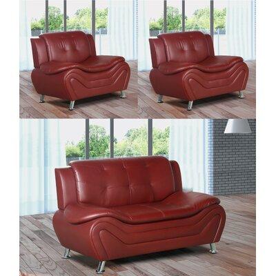 Tolar 3 Piece Living Room Set