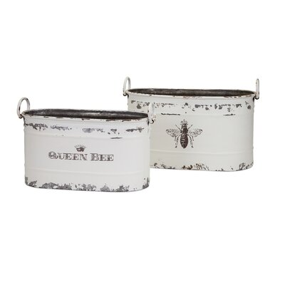 2 Piece Queen Bee Tub Set