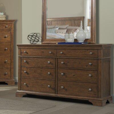 Rock Eagle Road 8 Drawer Standard Dresser