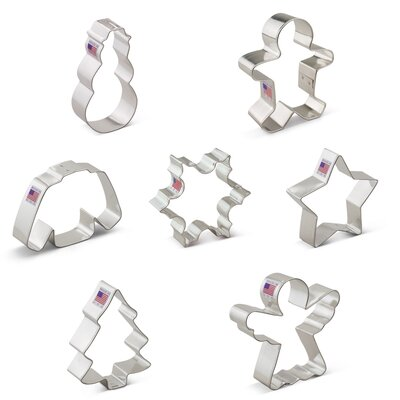 Christmas 7 Piece Cookie Cutter Set
