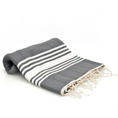 Turkish Cotton Bath Towel Color: Gray