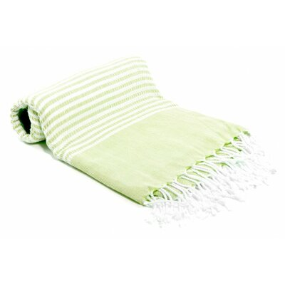 Turkish Bath Towel Color: Lime Green