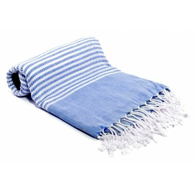Turkish Bath Towel Color: Blue