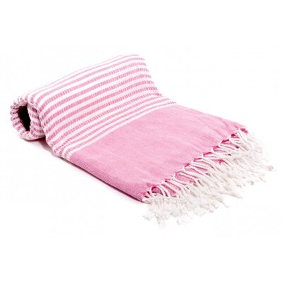 Turkish Bath Towel Color: Pink
