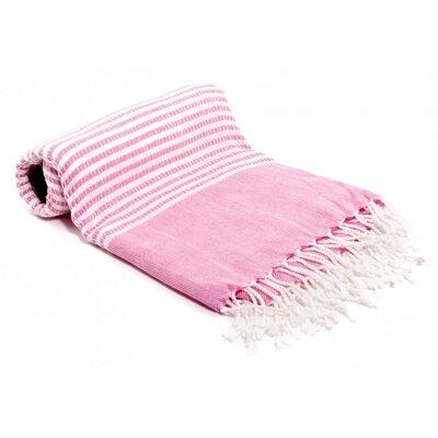 Turkish Bath Towel Color: Pink