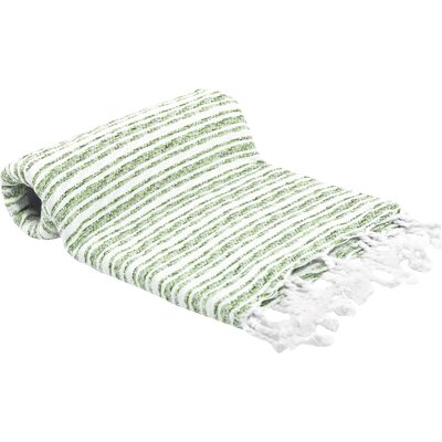Turkish Bath Towel Color: Green
