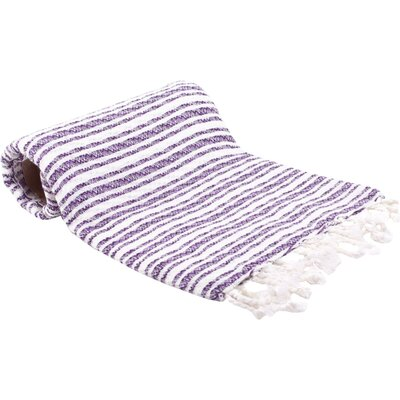 Turkish Bath Towel Color: Purple