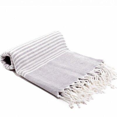 Turkish Bath Towel Color: Gray