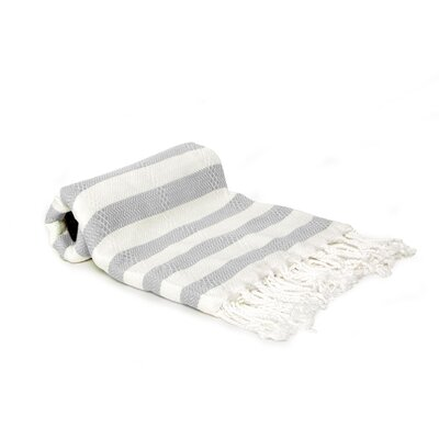 Agatha Beach/Bath Towel Color: Gray