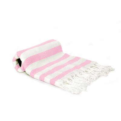 Agatha Beach/Bath Towel Color: Light Pink
