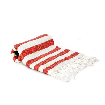 Agatha Beach/Bath Towel Color: Red