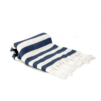 Agatha Beach/Bath Towel Color: Navy