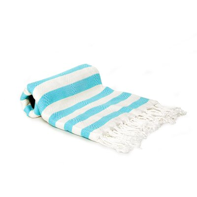 Agatha Beach/Bath Towel Color: Turquoise