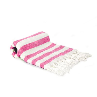 Agatha Beach/Bath Towel Color: Pink