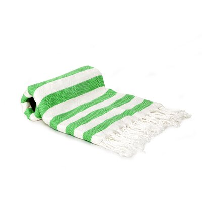 Agatha Beach/Bath Towel Color: Green