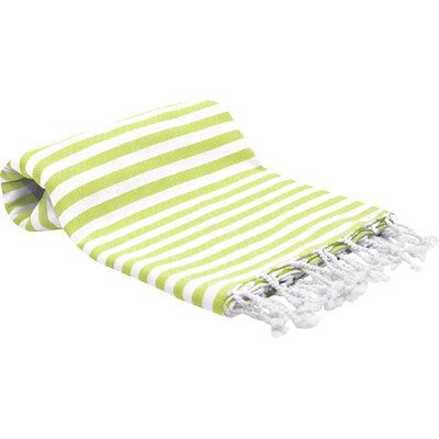 Peshtemal Fouta Bath Towel Color: Lime Green