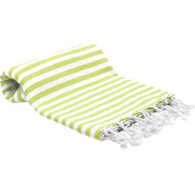 Peshtemal Fouta Bath Towel Color: Lime Green
