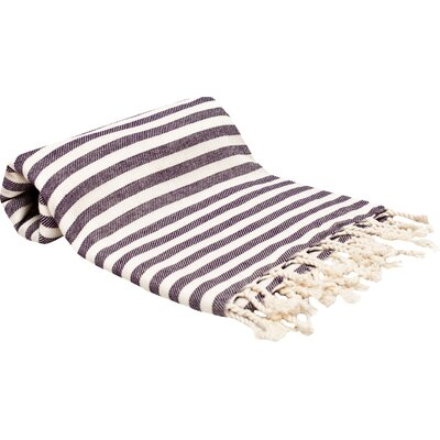 Peshtemal Fouta Bath Towel Color: Purple