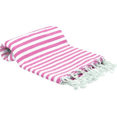 Peshtemal Fouta Bath Towel Color: Pink