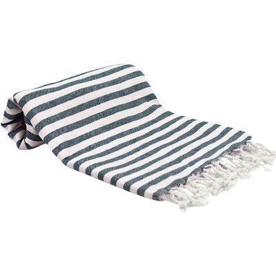 Peshtemal Fouta Bath Towel Color: Ocean Navy