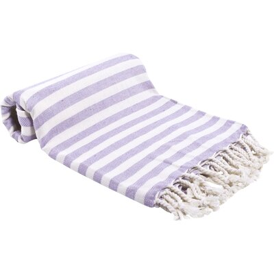 Peshtemal Fouta Bath Towel Color: Lilac