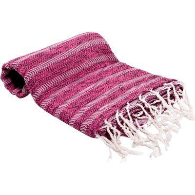 Istanbul Turkish Bath Towel Color: Pink