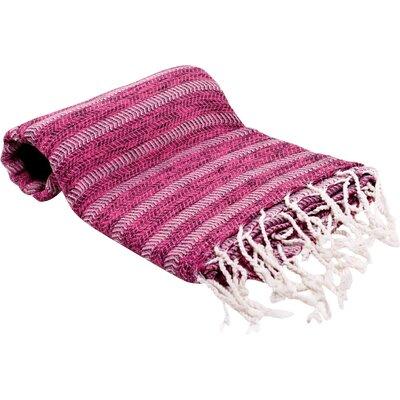 Istanbul Turkish Bath Towel Color: Pink