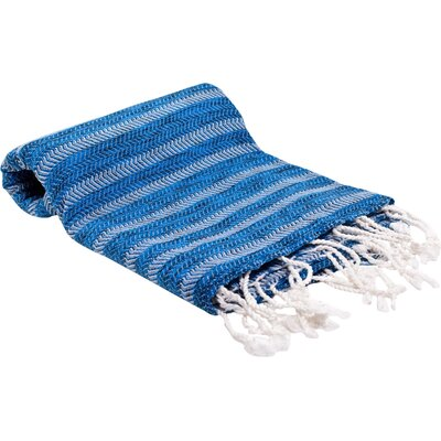 Istanbul Turkish Bath Towel Color: Blue