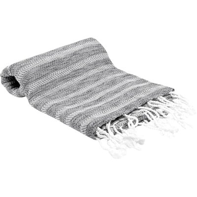 Istanbul Turkish Bath Towel Color: Gray