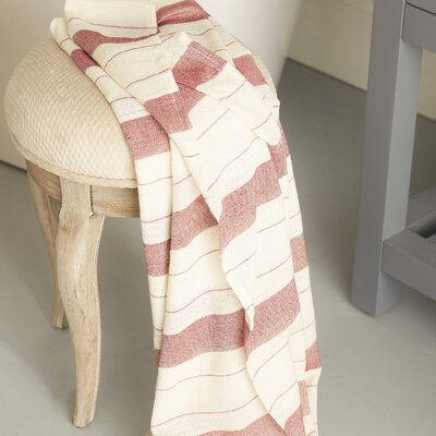 Sandburg Peshtemal Turkish Bath Towel Color: Red