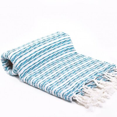 Turkish Bath Towel Color: Turquoise