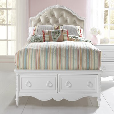 Saving on edington sleigh headboard size king reviews - White heart bedroom furniture ...