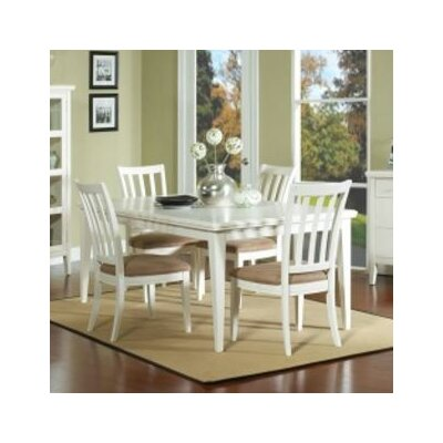 Nova Dining Table Table Finish: White