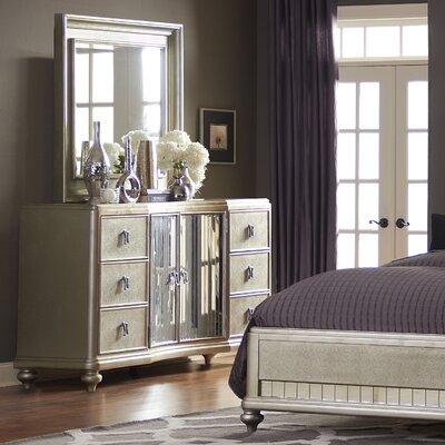Platinum 6 Drawer Combo Dresser