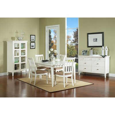 Nova Side Chair Side Chair Finish: White