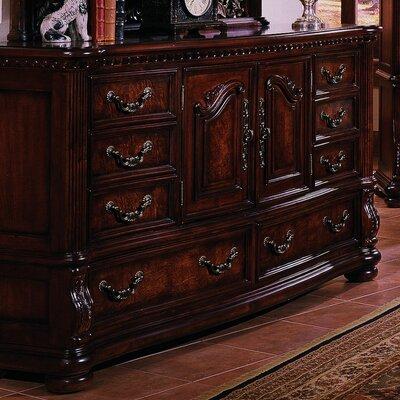 San Marino 8 Drawer Combo Dresser