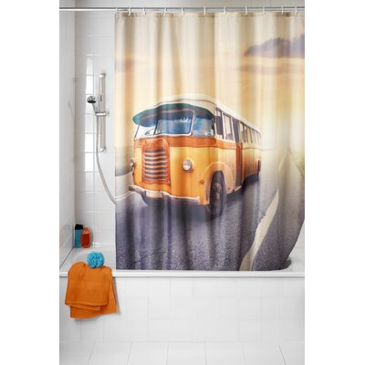 Bus Anti-mold Shower Curtain