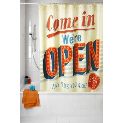 Open Anti-mold Shower Curtain