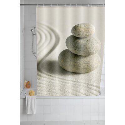 Sand and Stone Shower Curtain