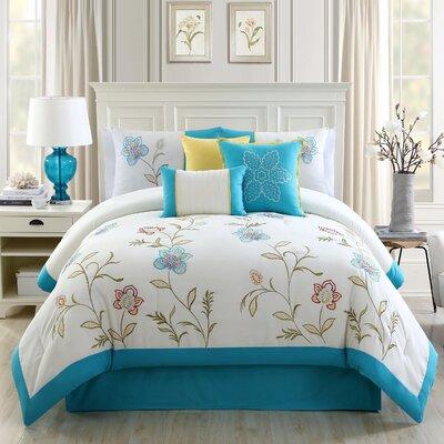 7 Piece Comforter Set Size: Queen
