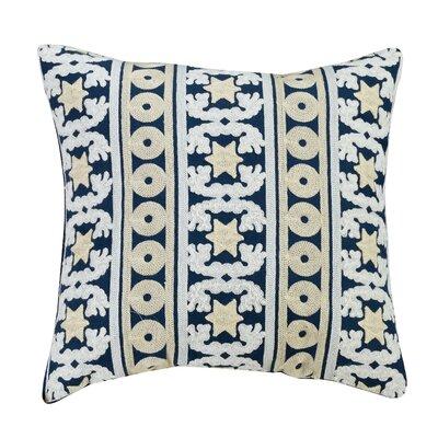 Taina Embroidered Throw Pillow