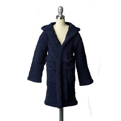 Youth Cover-Up Robe Size: 2-4, Color: Navy Blue