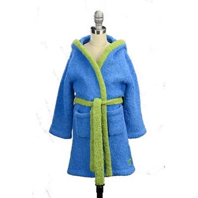 Youth Cover-Up Robe Size: 4-6, Color: Blue
