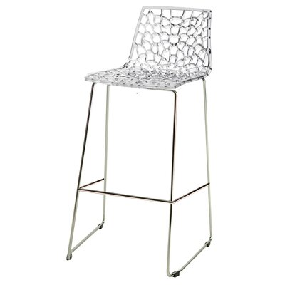 30 Bar Stool Finish: Crystal Clear