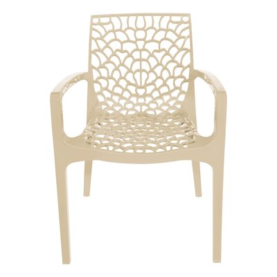 Arm Chair Finish: Ivory
