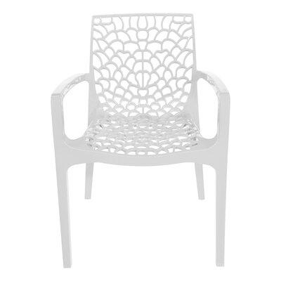 Arm Chair Finish: White