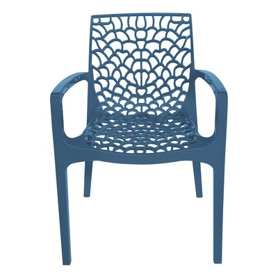 Arm Chair Finish: Avio Blue